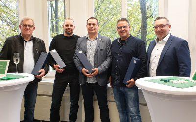 Die feierliche Übergabe der PJS Gebäudetechnik GmbH