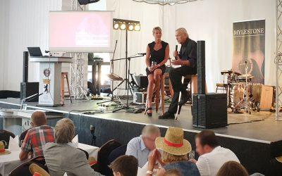 ExNa zu Gast auf dem Sommerfest der Otto-von-Guericke Business School Magdeburg