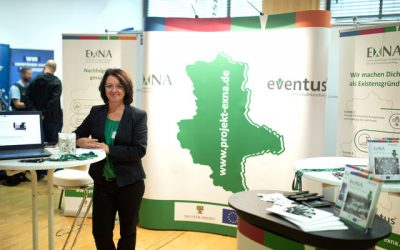Das Projekt ExNa auf der Jobmesse Halle